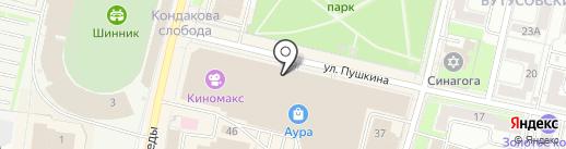 Maneki на карте Ярославля