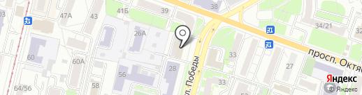 Федерация Судебных Экспертов, НП на карте Ярославля