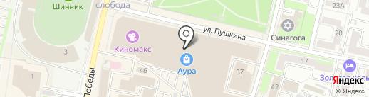 Miadea на карте Ярославля