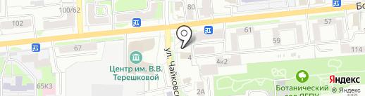 Департамент охраны объектов культурного наследия Ярославской области на карте Ярославля