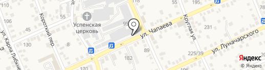 Техника на карте Аксая
