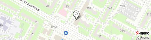 Мастерская по изготовлению ключей на карте Вологды