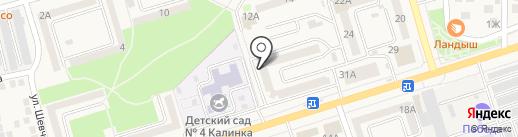 Управление Федеральной службы государственной регистрации, кадастра и картографии по Ростовской области на карте Аксая