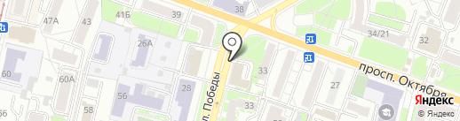Специалист на карте Ярославля