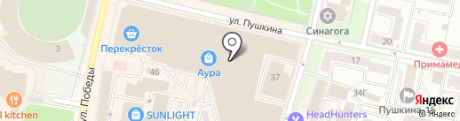 Женский рай на карте Ярославля