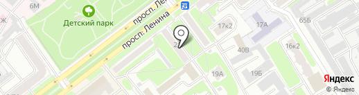 ЮжЭнергоРемонт на карте Ярославля