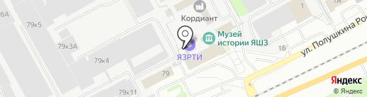 Структура на карте Ярославля