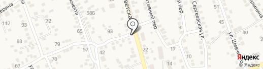 Юлия на карте Аксая
