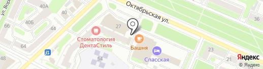 ЛЮКС на карте Вологды