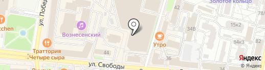Button Blue на карте Ярославля