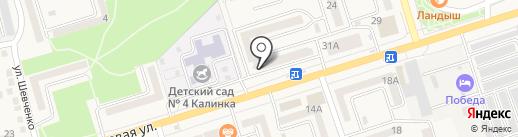 Нотариус Газалов А.В. на карте Аксая