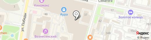 Правильные игрушки на карте Ярославля