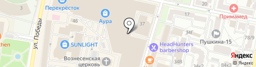 SUNLIGHT на карте Ярославля