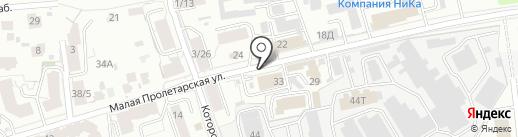 Тензор на карте Ярославля