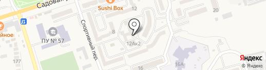 Хмельная #1 на карте Аксая