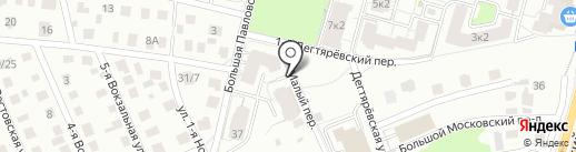 Бизнес-Актив на карте Ярославля
