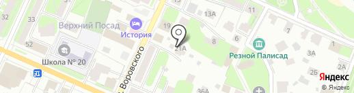 Ю-МИКС на карте Вологды