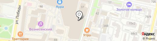 H & M на карте Ярославля