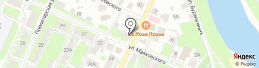 КОНТЭКС-Кран на карте Вологды