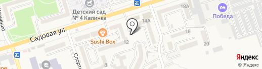 Аксайский хлеб на карте Аксая