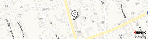 Строящиеся объекты на карте Аксая