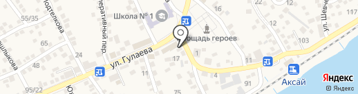 ТНС Энерго Ростов-на-Дону, ПАО на карте Аксая