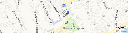 Мегаполис на карте Аксая