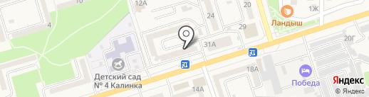 Феникс, ТСЖ на карте Аксая