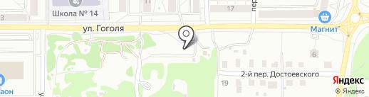 Кортеж на карте Ярославля