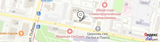 ЯрЮрист на карте Ярославля