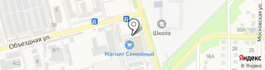 Коршуновская на карте Аксая