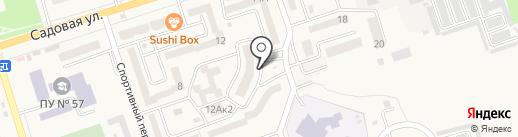 Наша марка на карте Аксая