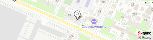 АКВАТОН на карте Вологды