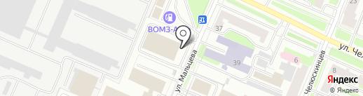 Шансон, FM 102.7 на карте Вологды