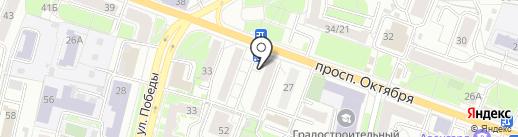 Продовольственный магазин на карте Ярославля