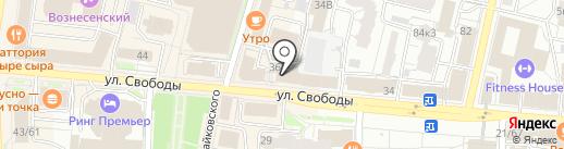 Власть на карте Ярославля