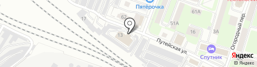 Автомойка на карте Вологды