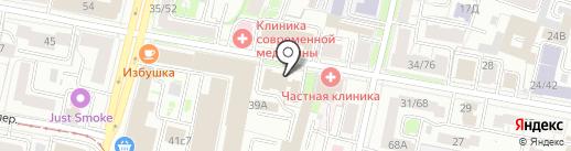 Ин-Ти-Си на карте Ярославля