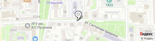 Терра Плюс на карте Ярославля