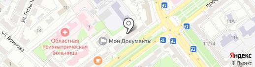 Stock and Second-hand на карте Ярославля