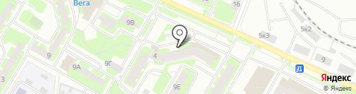 Фотосалон на карте Вологды