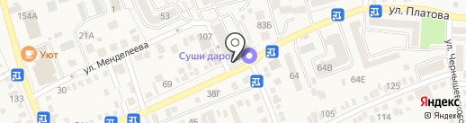 Krokus professional на карте Аксая