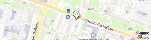 АвтоПять на карте Ярославля