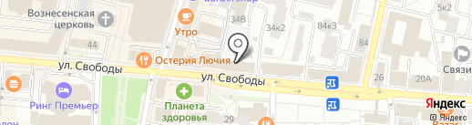 Второе дыхание на карте Ярославля