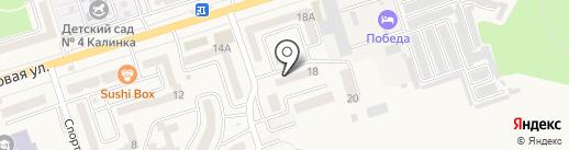 Факел-18, ТСЖ на карте Аксая