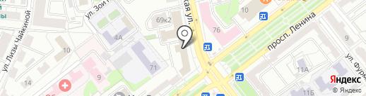 ЯрОблТрансКом на карте Ярославля