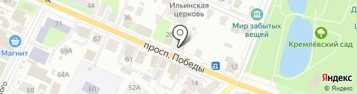 Антикварная лавка на карте Вологды