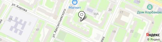 Парикмахерская №19 на карте Вологды