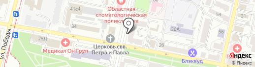 МедЭстет на карте Ярославля