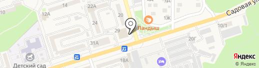 Швейное ателье на карте Аксая